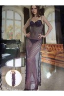 SV5208 Padded Cup with Long Fishnet Dress