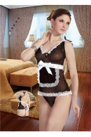 Sheer Halter Neck Maids