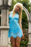 SVC0817 Adjustable Back Chemise With Lace Hem