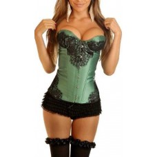 SV3842C Satin with Lace Corset