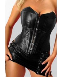 SV9186C PVC Bustier and G-string