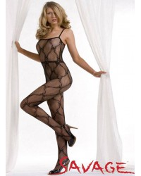 Butterfly Patten Full Body Stocking