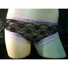 SV5982 Sexy Full Front with Open Shoe Lace Design Back Short